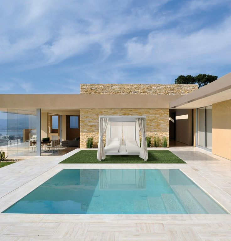 Aluminium gazebo ad living by unosider outdoor pool for Garden pool argos