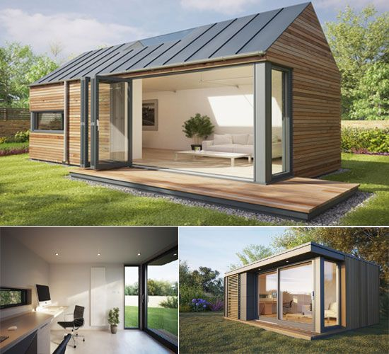 Work In Complete Tranquility With Pod Space Home-garden