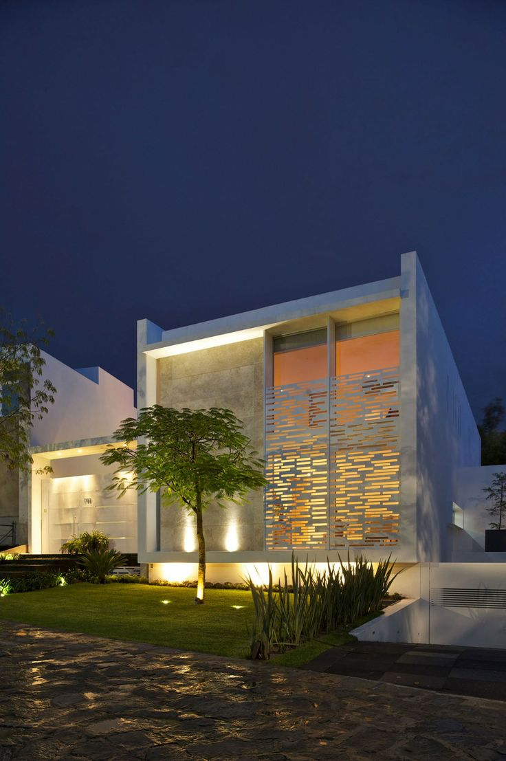 Casa Natalia by Agraz Arquitectos 3DRender Travertine