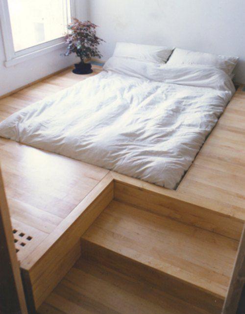 Very Cool Down In Floor Bed
