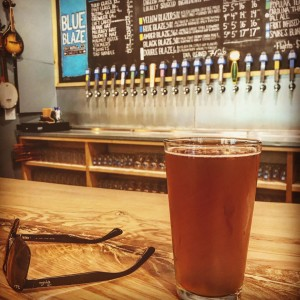 Smores Blonde ale at blueblazebrewingyyyesssss!